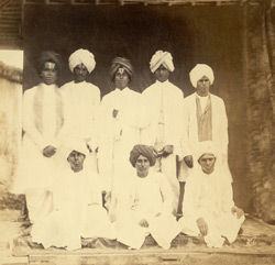 Group of students of the London Mission's Grant School, Madras